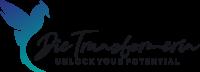 Die Transformerin Logo mit einem Phönix und Unlock your Potential Slogan