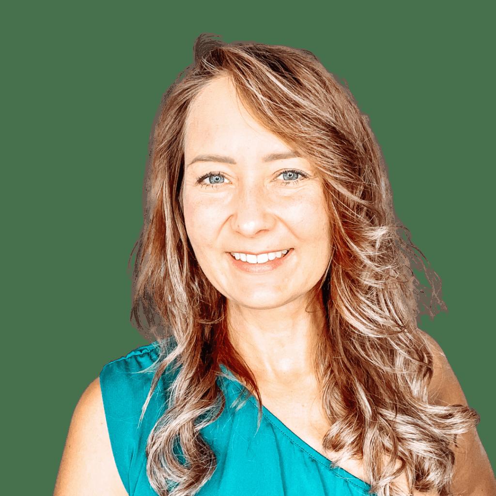 Lachendes Portrait von Nadine Schwarz der Transformerin
