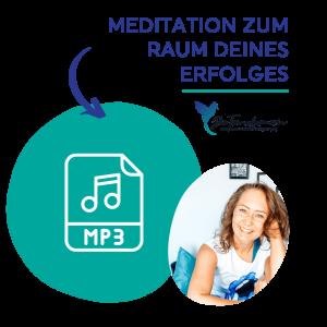 MP3 Logo für die Meditation zum Raum deines Erfolges